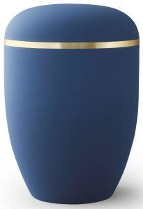 Xenon blå med stripe