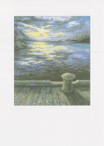 Slik havet speiler lyset